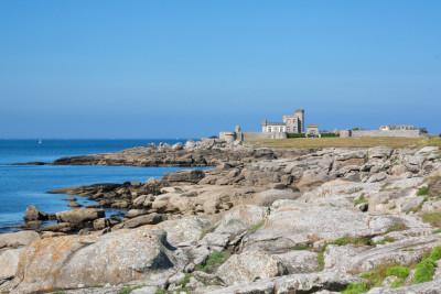 Le chateau de la Pointe de Trévignon à Trégunc - Finistère